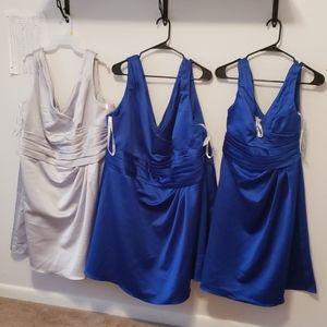 David's Bridal Cocktail/Bridesmaid Dress (4 total)